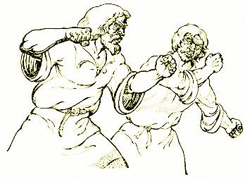 combat corps à corps histoire