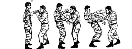 combat spetnaz dessin 1